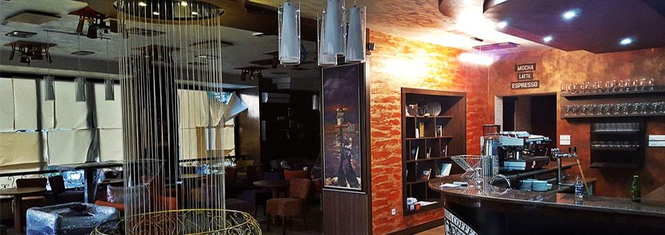 Fontana vodene niti u Caffeu SHISHA COSTA Sarajevo